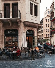 No better place to take your coffee break at than Paul in Downtown #Beirut By @karliseverywhere #WeAreLebanon  #Lebanon