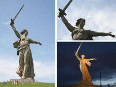 """""""The motherland calls"""" - Ryssland 1967 till minne av Stalingrad"""