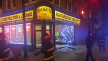 2 Injured When Car Crashes into South Side Restaurant - http://www.nbcchicago.com/news/local/car-crashes-into-washington-park-chicago-restaurant-421559454.html