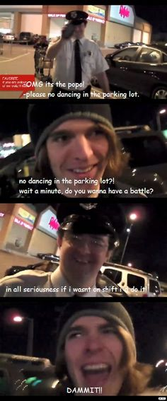 """""""It's the popo"""" he says so calmly. Shane really wanted to have that battle though"""