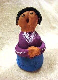 Navajo Storyteller Figures
