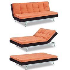 Lewis 2 Tone Sofa Chaise Click Clack, American Furniture Warehouse