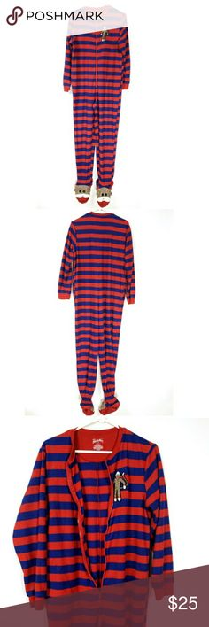no tag NICK /& NORA Girl/'s Pajama XS 4//5 WINTER WONDERLAND New