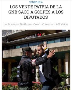 GNB golpea a los Diputados