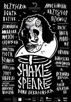 """""""Shakespeare"""", Dana Łukasińska, reżyseria: Agata Bizuk, więcej informacji: http://dramatyczny.pl/spektakl/shakespeare/"""