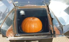 Pumpkin Puree made in a solar oven