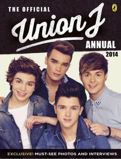 Union J annual 2014 MUST BUY!