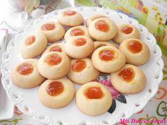 Mis Dulces Joyas: Galletas - gotitas de mermelada