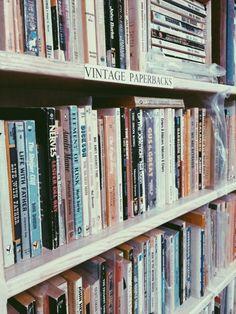 Vintage paperbacks.    Gabrielle Assaf   VSCO Grid