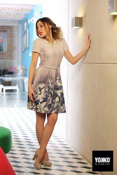 A perfect spring dress... #yokkoromania #newcollection #eveningdress
