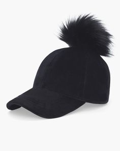 498f6e91d7f Chico s Faux Fur Pom-Pom Hat