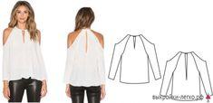 Большая подборка модных легких блузок с выкройками, которые можно сшить за пару часов! (Часть 1) Pattern Drafting, Tunic Tops, Sewing, Clothes, Google Translate, Women, Fashion, Big Sizes, Craft