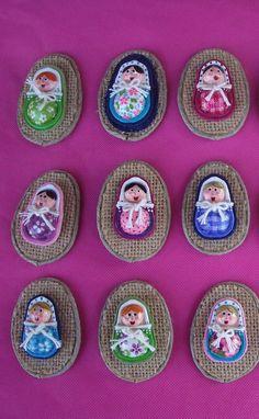 how to: mini matroshka dolls