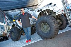 Kenny Hauk at The SEMA Show Jeep Wrangler, Jeeps, Offroad, Design Projects, Monster Trucks, Vehicles, Jeep Wranglers, Off Road, Car