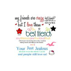 Best friend quote image by MINITRUCKER21_2006 on Photobucket ❤ liked on Polyvore