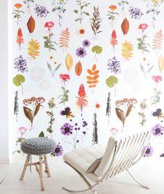 Poppytalk: Sunday Reading More Fabulous Wallpaper Kids Wallpaper, Wallpaper Panels, Wall Wallpaper, Reading Wallpaper, Plant Wallpaper, Wallpaper Wallpapers, Wallpaper Ideas, Diy Design, Interior Design