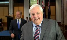 The strange case of how coal miner Clive turned climate crusader | Clive Palmer brought together an eclectic group to make his 'I'm with Al Gore' policy announcement