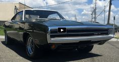 Fully Restored 1970 Dodge Charger 500 Up Close