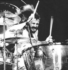 """Drumming was the only thing I was ever good at"" said John Bonham of Led Zeppelin"