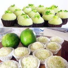 Receita de Brigadeiro de limão - GRANIG RECEITAS
