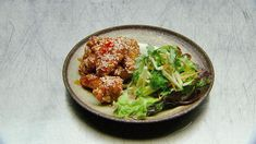 Sweet and Sour Chicken Wings with Fusion Salad (from Australia Masterchef 10 contestant Jess)
