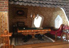 Fairfield Dollhouse 1:24 scale - Recreation Room