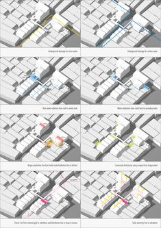 Architecture Infrastructure Assemblage Infrastructure Architecture, Map, Maps, Peta