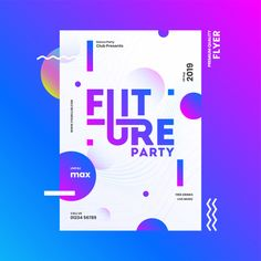 Future party template or flyer design with time, date and venue details on abstract background. Premium Vector | Premium Vector #Freepik #vector #background #flyer #poster #music