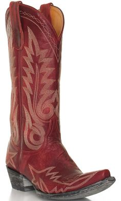 Old Gringo Women's Nevada Cowboy Boots - Red Red Cowgirl Boots, Red Boots, Old Gringo, Comfortable Boots, Fiery Red, Autumn Summer, Fall, Nevada, Give It To Me