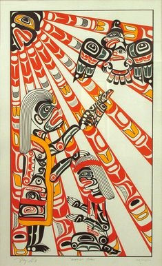 Baptism Mural, Chief Tony Hunt (Kwakwaka'wakw) 1976