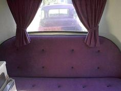 Tufted deep purple boler gaucho