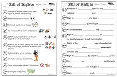 Bill of Rights activities...
