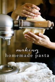 Coordinately Yours, by Julie Blanner   Entertaining & Design Blog that Celebrates Life: How to Make Homemade Pasta - in Minutes!
