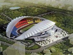 La Joya de La Sabana: Estadio Nacional de Futbol en San José , capital de Costa Rica.