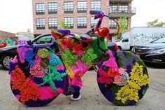 OLEK. Crocheted Art