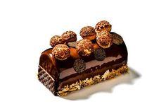 ゴントラン シェリエから新作クリスマスケーキ - 白と黒、2種のビュッシュ・ド・ノエル | ニュース - ファッションプレス
