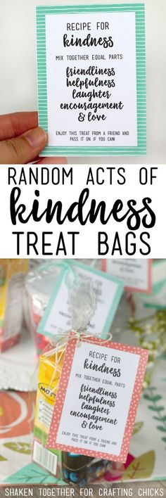 100 Acts of Kindness for Kids   Free printable, Big and ...