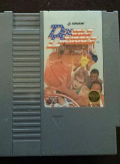 Double Dribble (Nintendo, 1987)www.lightning-deals.com #lightningdeals @buylightning Text: 281-764-9228