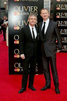 Martin & Mark at the Olivier Awards 2014