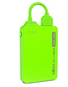 i-PowerBank 1600mAhVR - Batterie de secours externe 1600 mAh, sous License Apple MFI, pour iPhone avec connecteur Apple Lightning. - Couleur : VERT BIDUL http://www.amazon.fr/dp/B00PQMYXSM/ref=cm_sw_r_pi_dp_Hyi3ub0GS2K9B