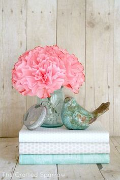 DIY Coffee Filter Peonies Cari, make these for me. pweeeezzzz