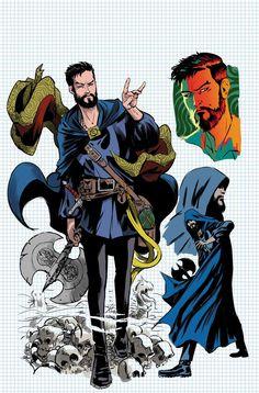 Doctor Strange: Sorcerers Supreme #1 Design Variant - Javier Rodriguez
