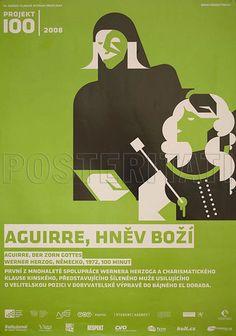 Aguirre The Wrath of God 2008 Original Czech Movie Poster Werner Herzog | eBay
