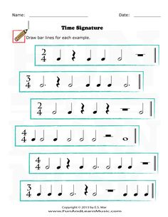 Time Signature - SproutBeat