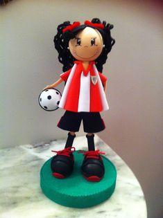 fofuchas-pospolinas: Fofucha futbolista
