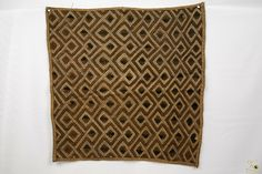 Kuba Cloth ( Shoowa ) Raffia Textile - Congo DRC Congo, Embroidery Thread, Animal Print Rug, Weaving, Textiles, Stitch, Rugs, Ebay, Clothes