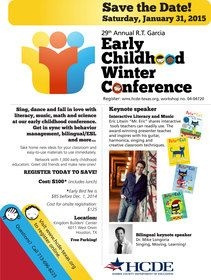 29th Annual R.T. Garcia Early Childhood Winter Conference