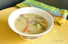 ... chicken soup creamy chicken soup a nice light meal during spring and