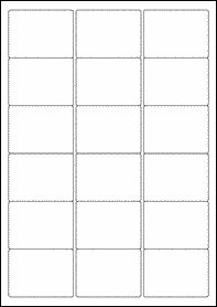 Eu Mm X Mm Blank Label Template  Blank A Label