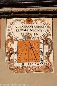 Cadran solaire de La Salle.